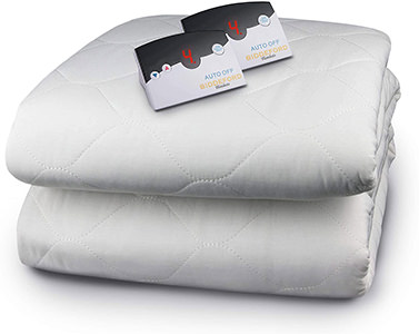 Biddeford Blankets Quilted Electric Heated Mattress Pad
